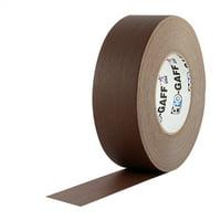 "Pro Gaff Brown Gaffers Tape 2"" x 55 yard Roll"