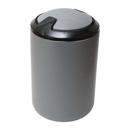 - Evideco Plastic 1.6 Gallon Swing Top Trash Can