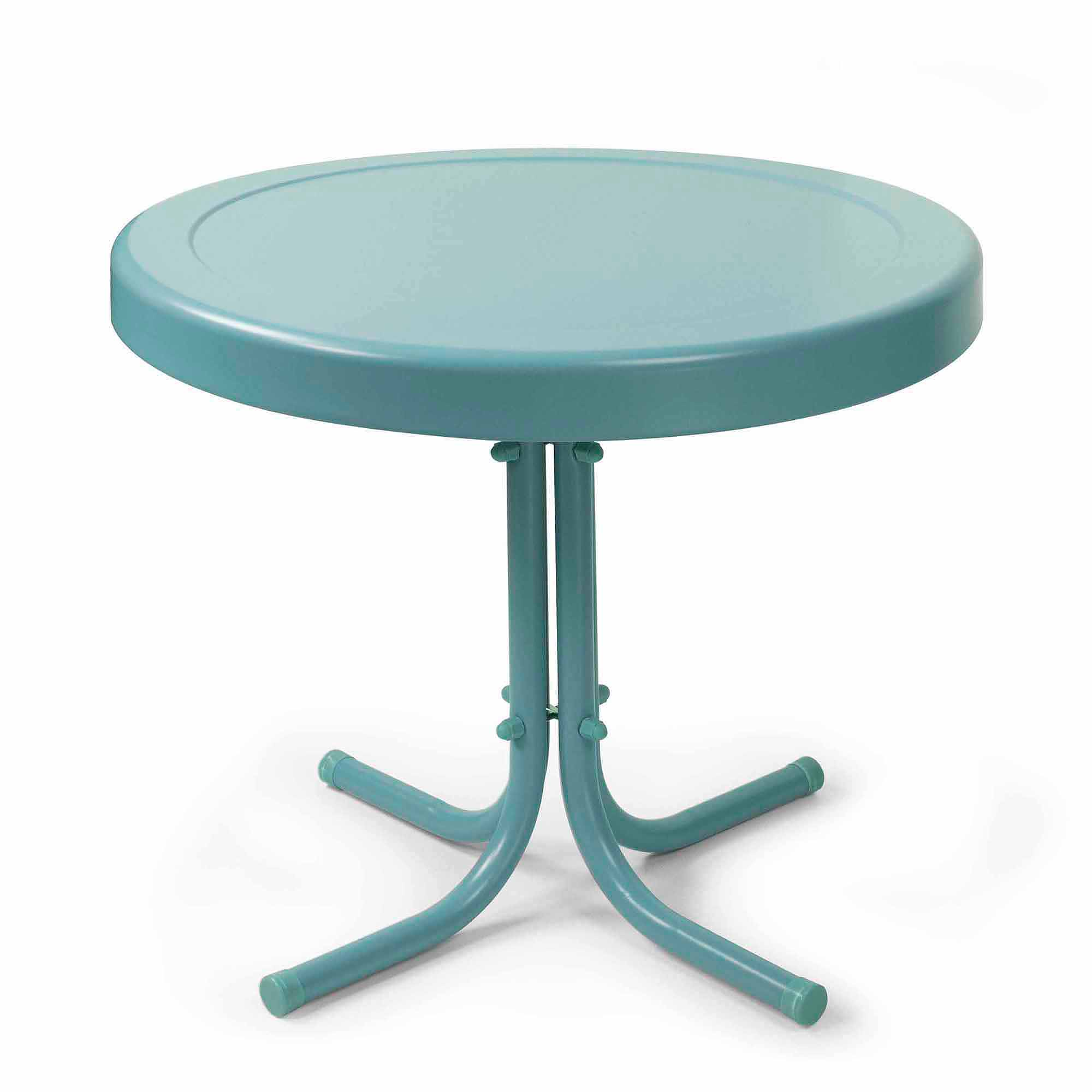 Crosley Furniture Retro Metal Side Table Walmart