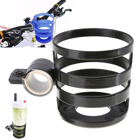 Universal Bicycle Cycling Handlebar Water Bottle Cup Holder Cage Rack MTB Bike Mount Color:Black