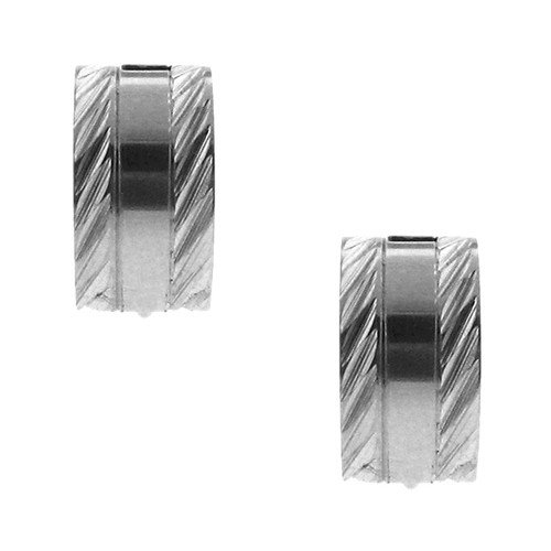 Moise Diamond Edge Cuff Earrings