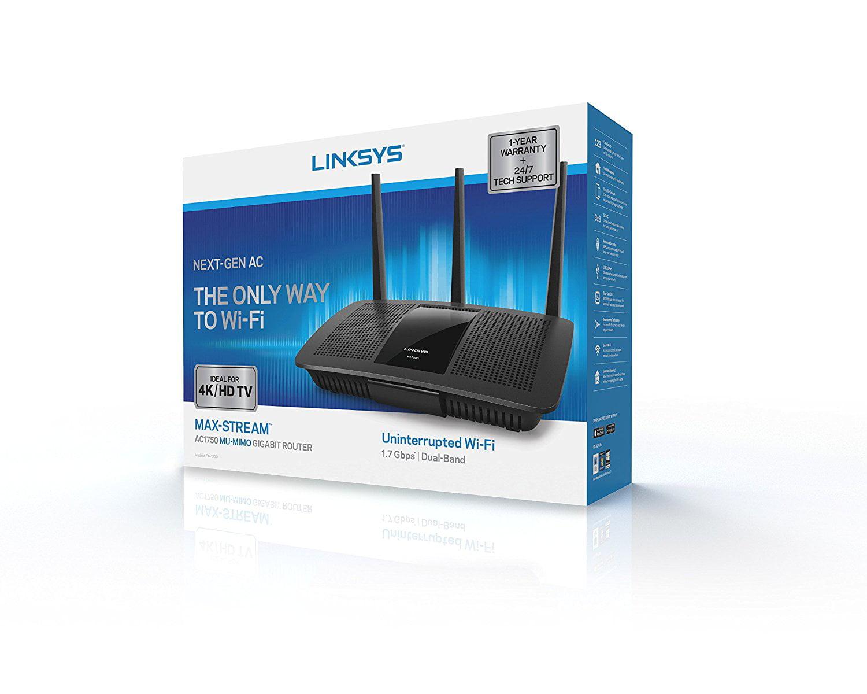 Linksys Ea7300 Maxstream AC1750 WIFI Router