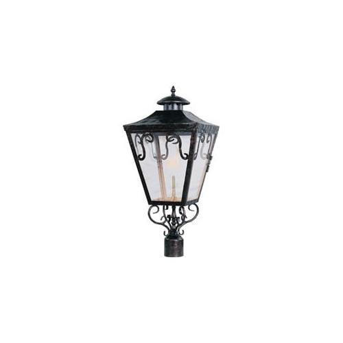 Maxim Lighting 39991CLOI Cordoba Outdoor Post Gas Lantern - Oil Rubbed Bronze