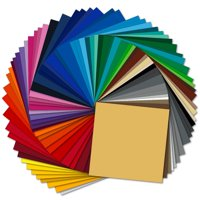 Oracal 651 Glossy Permanent Adhesive Vinyl 63 Sheet Assorted Pack
