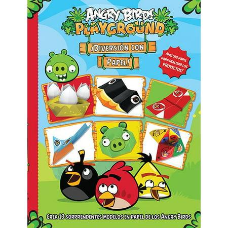 Angry Birds Playground ¡Diversión Papel! / Angry Birds Playground Papercraft Fun!](Calabazas Halloween Papel)