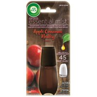 Air Wick Essential Mist, Fall Scent Essential Oils Diffuser Refill, Apple & Cinnamon, 1ct, Air Freshener, Fall dcor