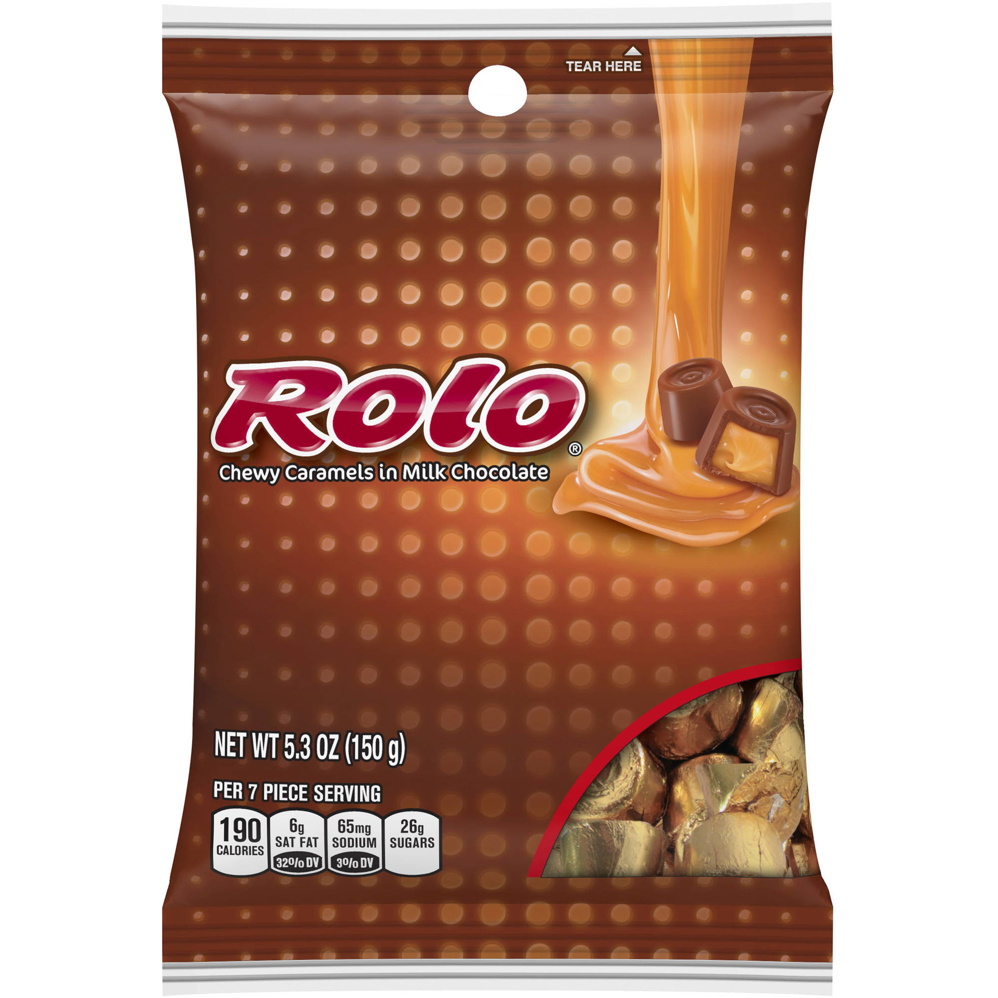 Rolo Chewy Caramels in Milk Chocolate, 5.3 oz