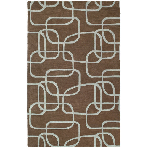 Kaleen Astronomy Nebulae Brown Area Rug