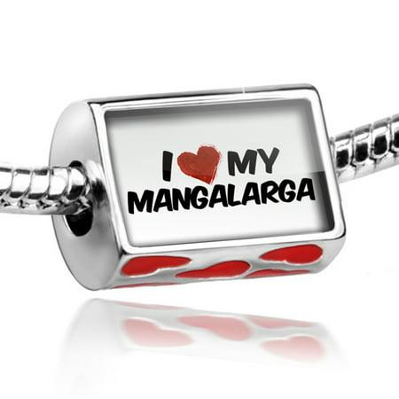 Bead I Love My Mangalarga  Horse Charm Fits All European Bracelets