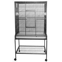 A and E Cage Co. Wrought Iron Flight Cage-Platinum