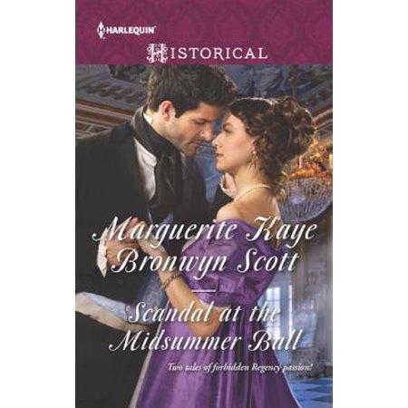 Scandal at the Midsummer Ball - eBook