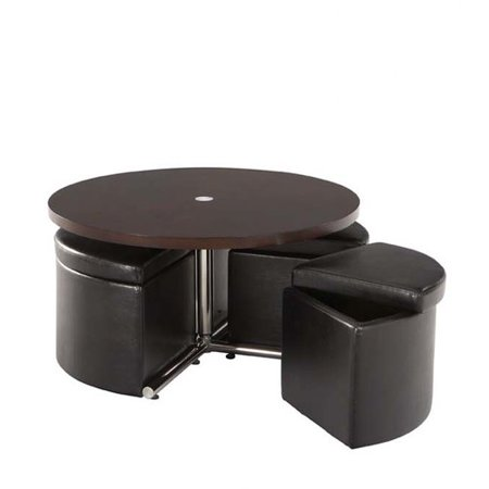 Standard Furniture Cosmos Coffee Table With Ottoman Set