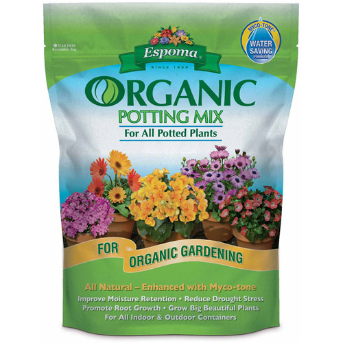 Espoma 16-Quart Organic Potting Mix
