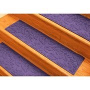 Tucker Murphy Pet Beaupre Purple Fall Day Stair Tread (Set of 4)