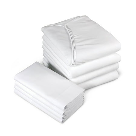 Personal Touch Hospital Bed Premium Fitted Contour Hospital Sheet, Jersey Knit -24 OZ 1 (Ck Fitted Sheet)