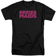 Bridesmaids Logo Mens Big and Tall Shirt