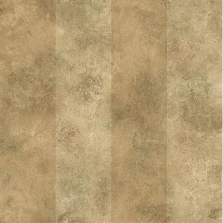 Awning Stripe Wallpaper - Brewster SRC19451 Stonington Brown Awning Stripe Wallpaper