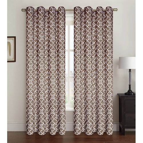 Kashi Home Alex Single Curtain Panel
