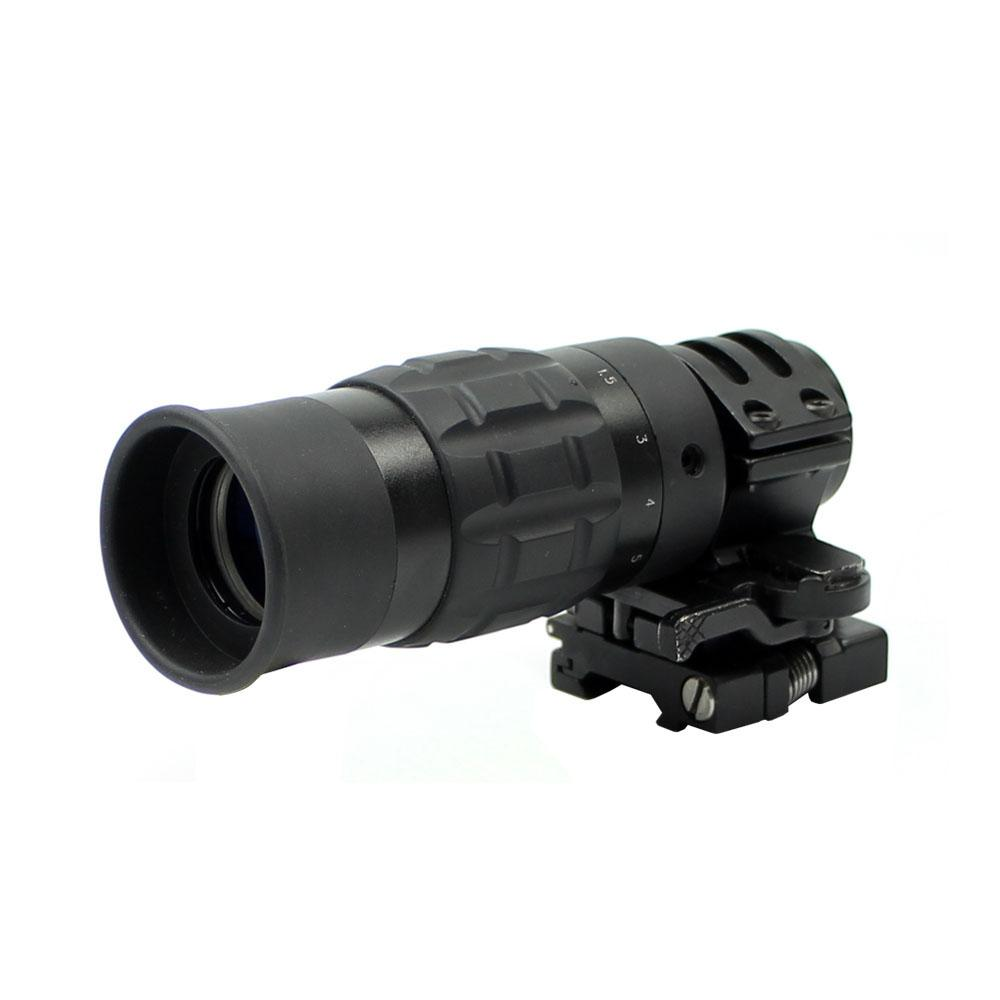 ACME 1.5 5X Magnifier w  Flip To Side ARMS Mount by