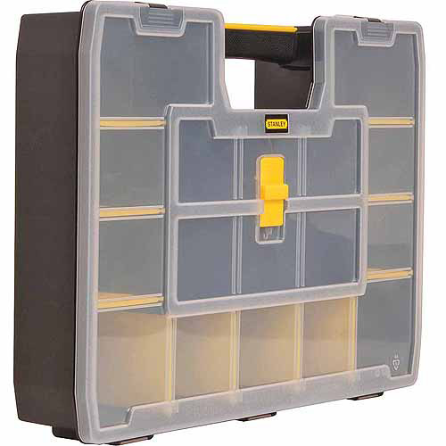 STANLEY SORTMASTER ORGANIZER Stanley Tools Storage Parts Cabinets STST14027 by STANLEY TOOLS