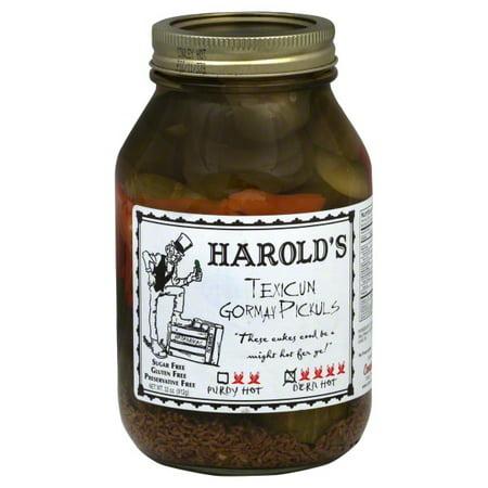 Harold's Pickles, 32 Oz  - Walmart com