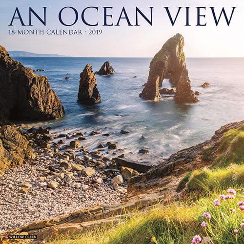 Willow Creek Press 2019 Ocean View Wall Calendar