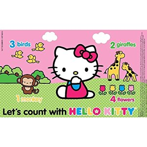 Neat Solutions Hello Kitty Table Toppers Disposable Placemats 36 count