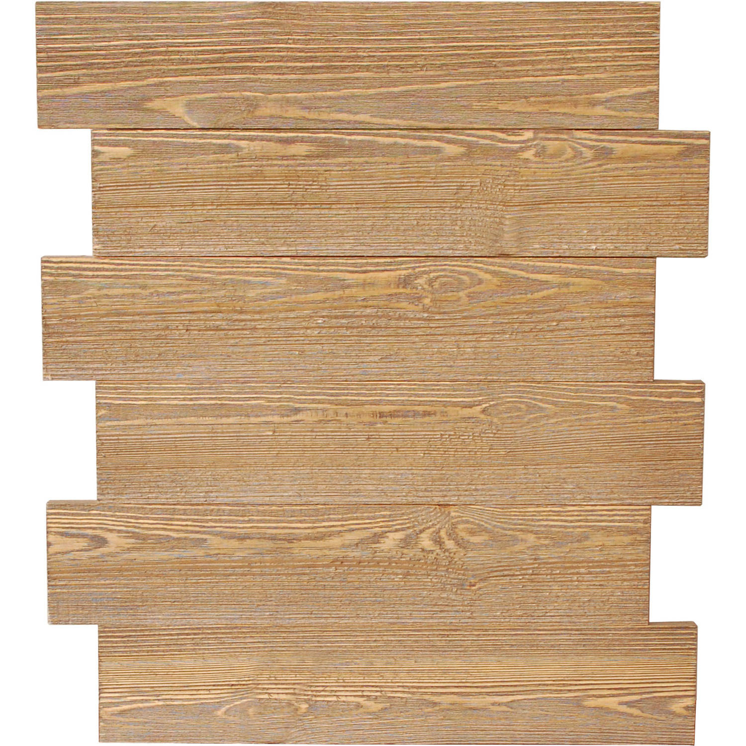 "Jillibean Mix Media 16"" x 20"" Offset Panel Rustic"