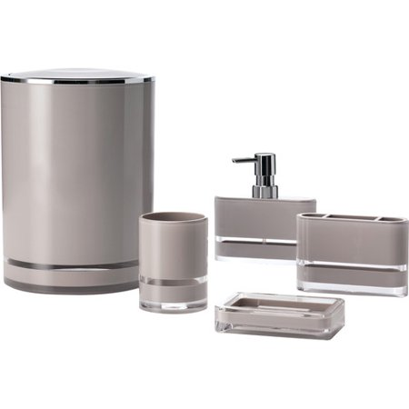 Immanuel majesty 5 piece bathroom accessory set for Bathroom 5 piece set