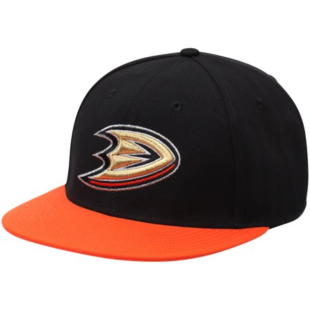 quality design 023e9 92b60 Anaheim Ducks adidas Basic Two-Tone Fitted Hat - Black ...
