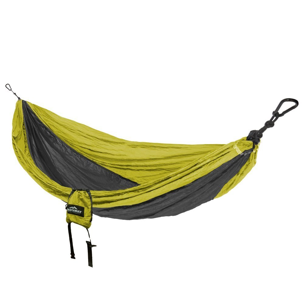 Travel Hammock - Double Green/Charcoal