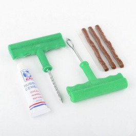 Emergency Plug Plugger Patch Repair Kit for Radial Tires Repairing Patching