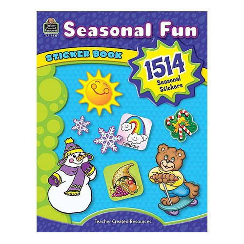 Teacher Created Resources Seasonal Fun Book Sticker
