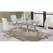 Chintaly Jade 5 Piece Dining Table Set with Z Frame Dining Chairs