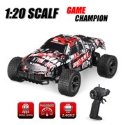 2.4GHz 1:20 Remote Control Toy Car RC Electric Monster Truck OffRoad Vehicle For Children Kids Boys Gift (with Car Battery/Charger/Screwdriver)