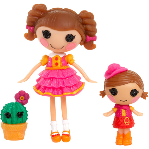 Lalaloopsy Mini Littles Prairie Dusty Trails and Trouble Dusty Trails Dolls