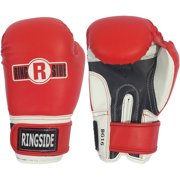 Ringside Youth Pro Style Training Gloves, Red