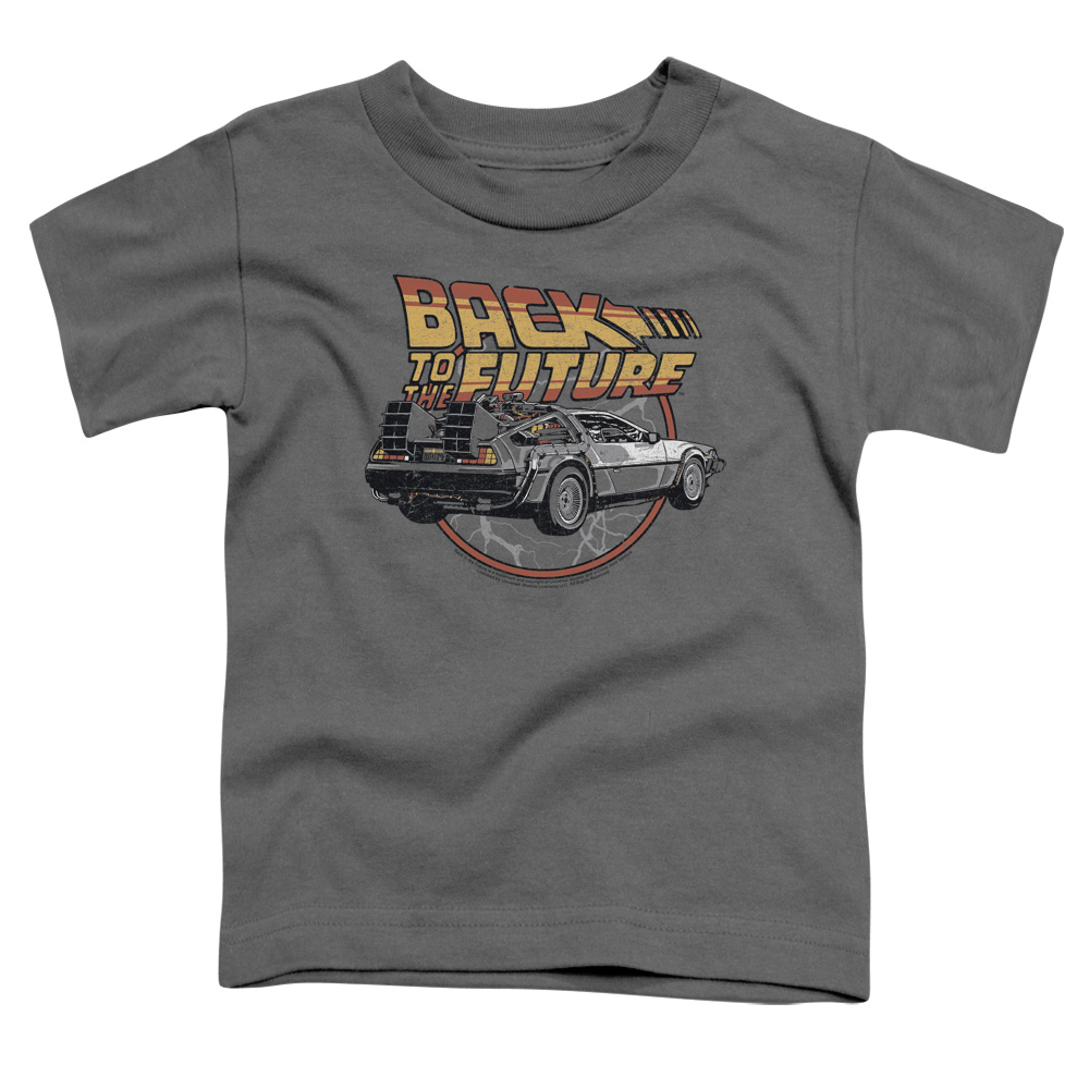 Back To The Future Time Machine Little Boys Shirt