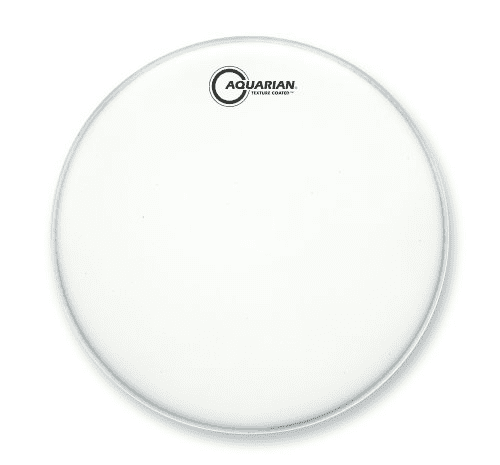 """Aquarian 24"""" Satin Finish Texture Coated White Dru by"""