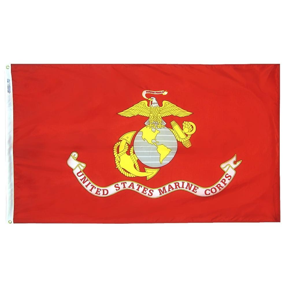 Speldjes Overig 3' X 5' US/U.S./USMC AMERICAN CAMO MARINE CORPS FLAG 3X5