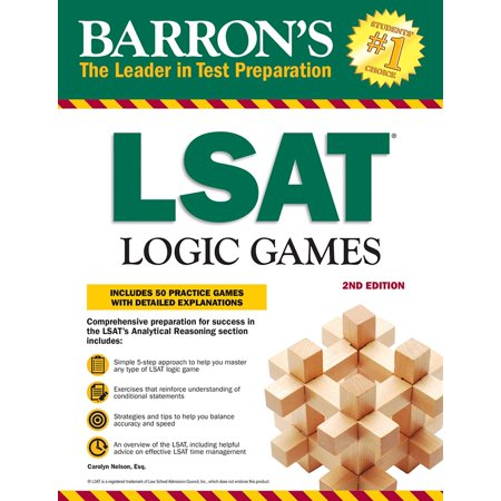 - LSAT Logic Games : Includes 50 Practice Games with Detailed Explanations