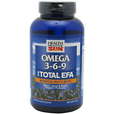 Total Efa Womens Formula - Health From The Sun The Total EFA Softgels, 180 CT