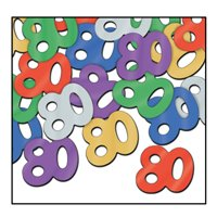 80th Birthday Party Confetti