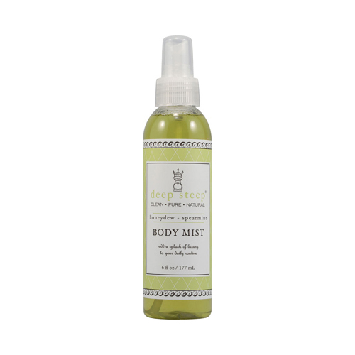 Deep Steep Body Mist Honeydew Spearmint - 6 fl oz