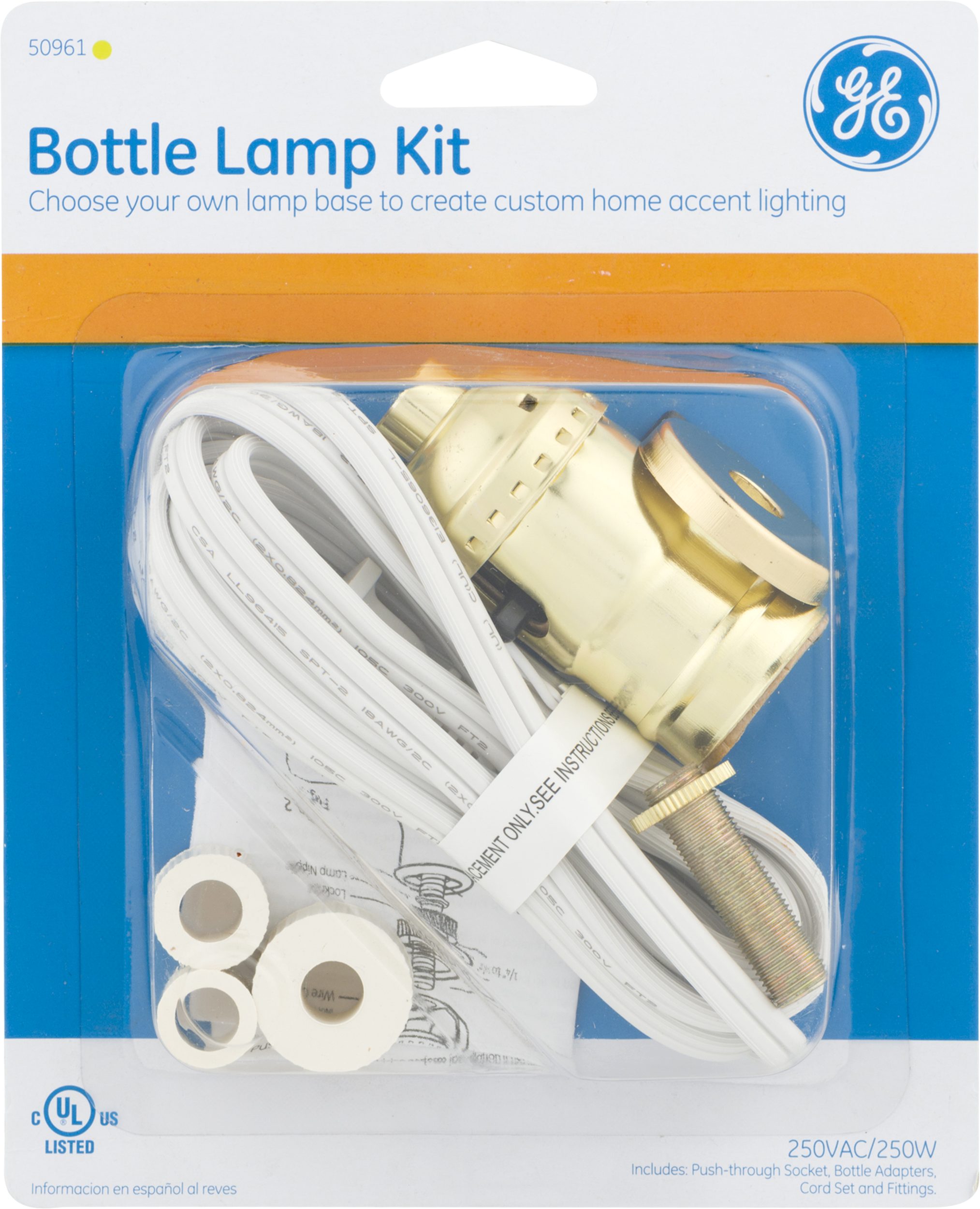GE Bottle Lamp Kit, 1.0 CT   Walmart.com