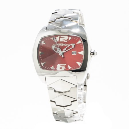 WATCH  CHRONOTECH STAINLESS STEEL PINK SILVER MEN  CT2188M 04M - image 1 de 2