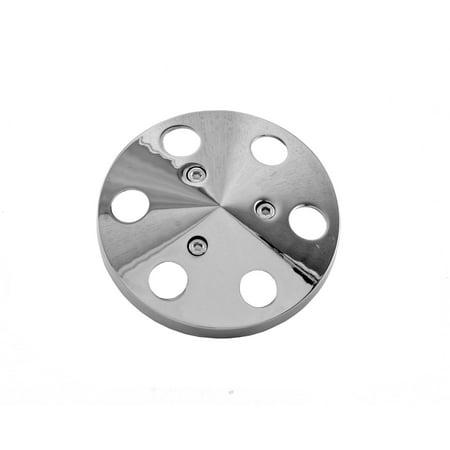 Tuff Stuff Performance 8490B A/C Compressor Clutch Cover; Machined Aluminum; - Clutch Dome Cover