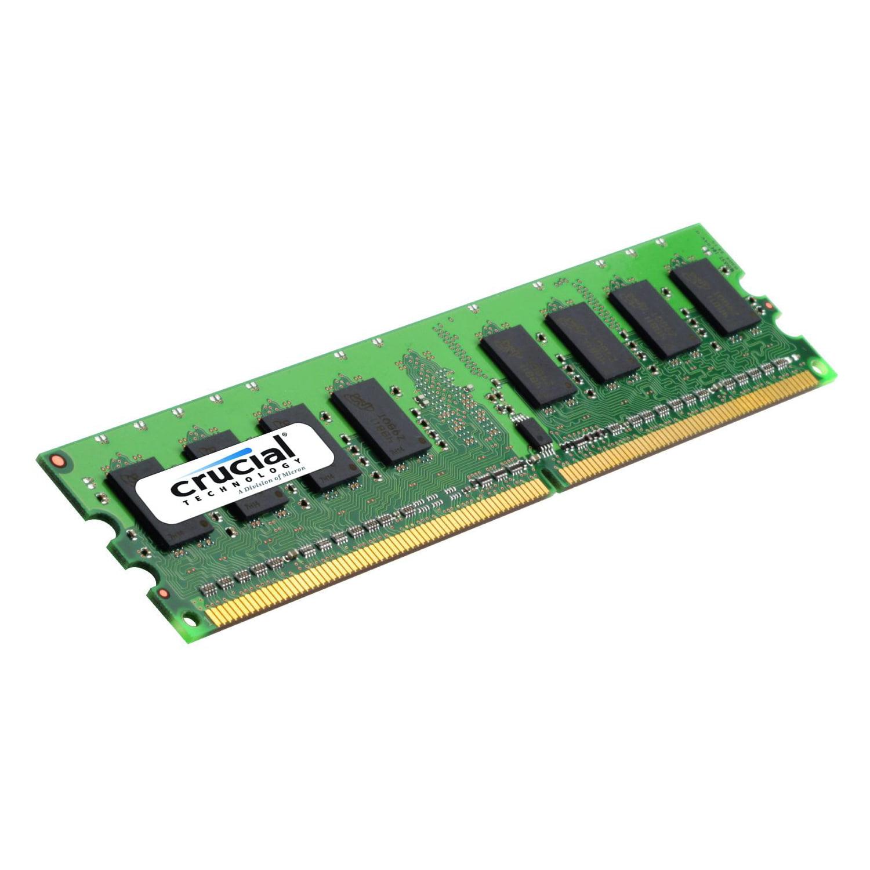 Crucial 4gb Ddr3 Sdram Memory Module - 4 Gb - Ddr3 Sdram - 1600 Mhz Ddr3-1600/pc3-12800 - Non-ecc - Unbuffered - 240-pin - Dimm (ct51264bd160b)