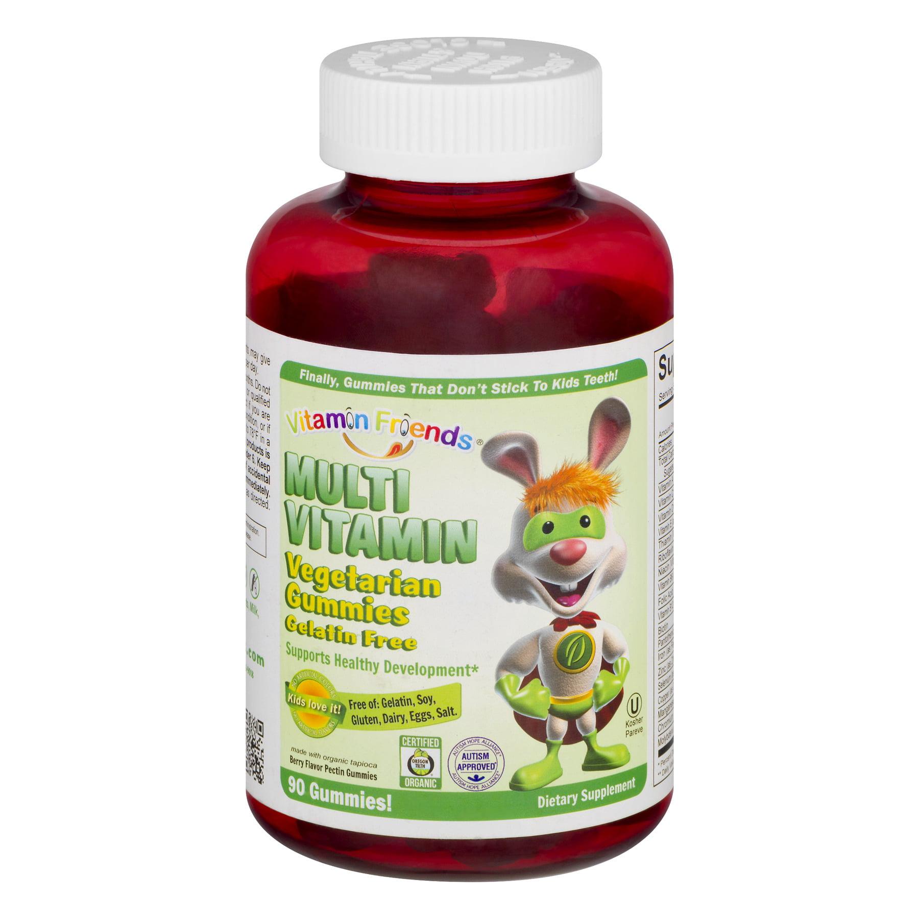 Vitamin Friends Multi Vitamin Vegetarian Gummies - 90 CT90.0 CT
