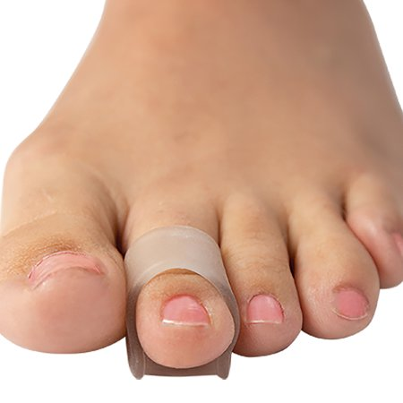 (Set/2) Visco-GEL Hammer Toe Crutch Pad Lifts To Relieve Pressure &